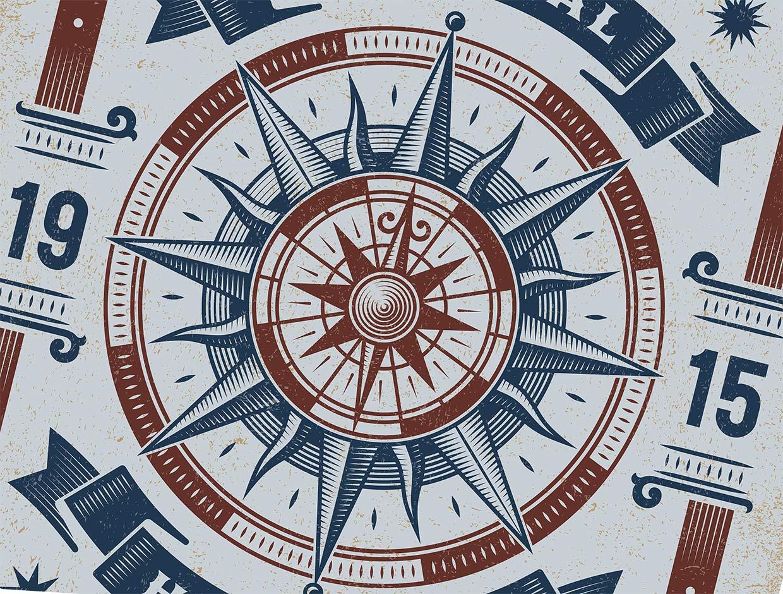 Rose Compass
